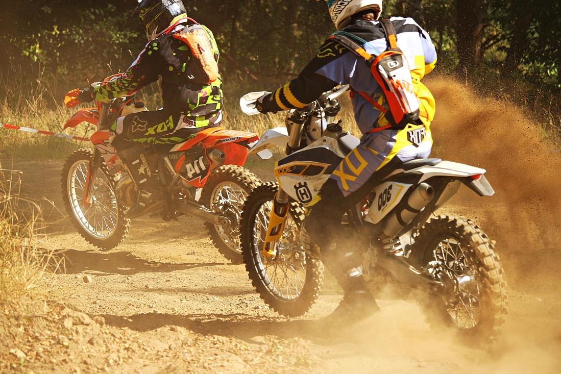 竞赛, 竞赛, 摩托车, 快速, 动作, 摩托车, 灰尘, 摩托车