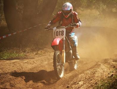 competencia, carrera, ciclista, motocross, vehículo, casco, acción, rueda