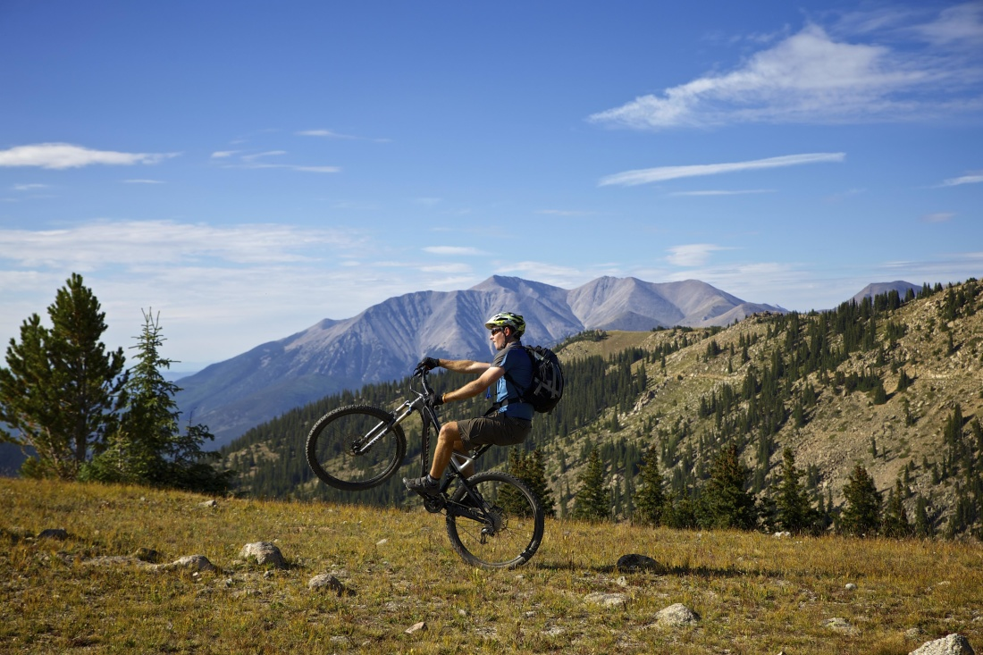 mountain, adventure, bicycle, sport, landscape, mountain bike, fitness