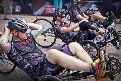 cyklista, lidé, biker, vozidlo, kolo, silniční kolo