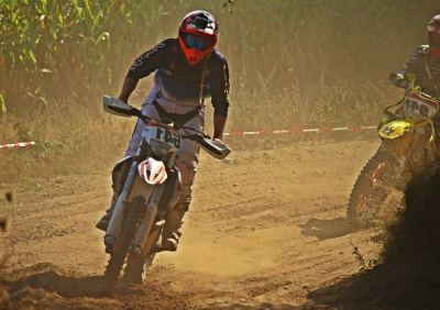 competition, man, sport, motocross, nature, dust, mud, motorcycle