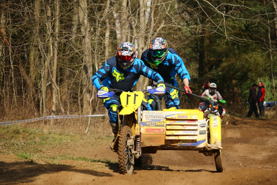 tricycle, competition, course, véhicules, personnes, road, action, homme, motocross, sport, poussière