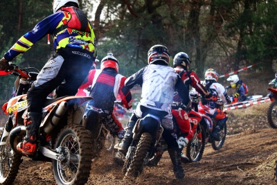 race, competition, biker, vehicle, motocross, sport, wheel, people, motorcycle