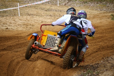 tricycle, concurrence, outil, motocross, moto, sport