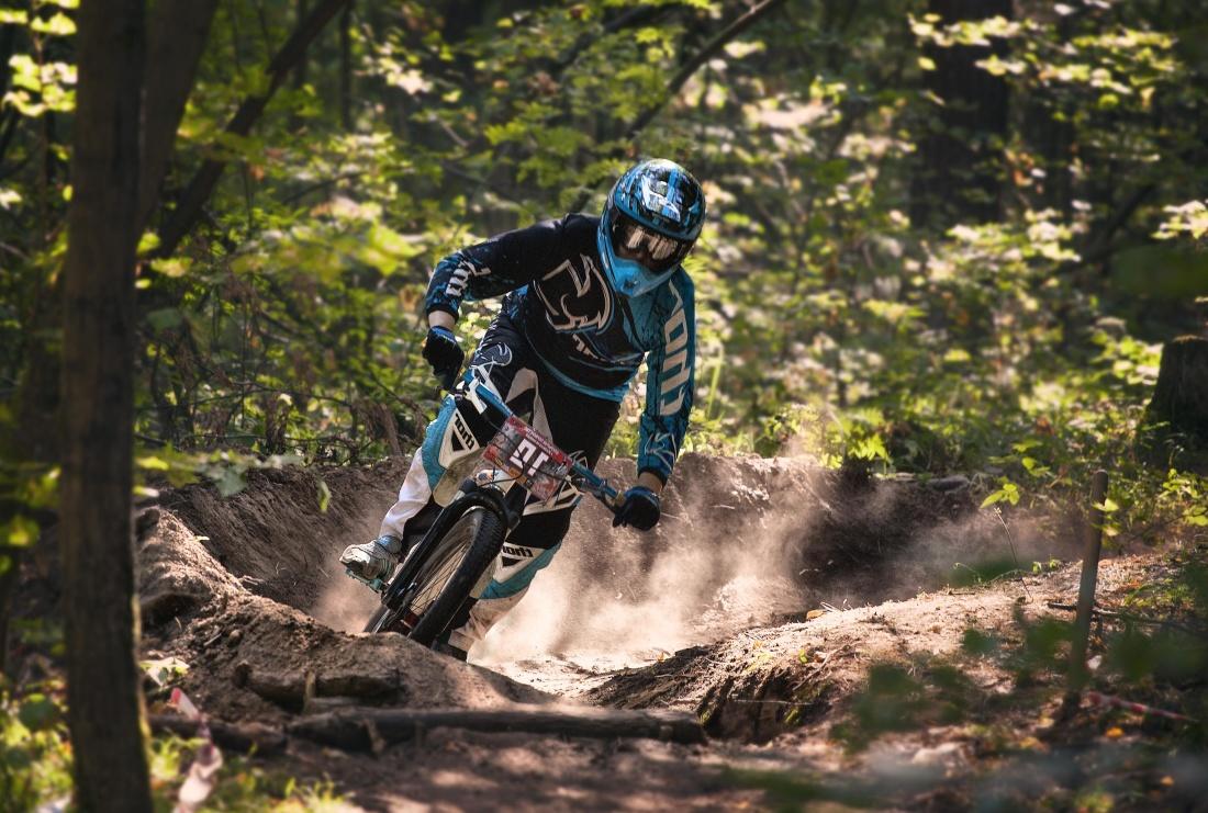 závod, konkurence, akce, helma, Motorkářská, motocross, sport, prach, motocyklu