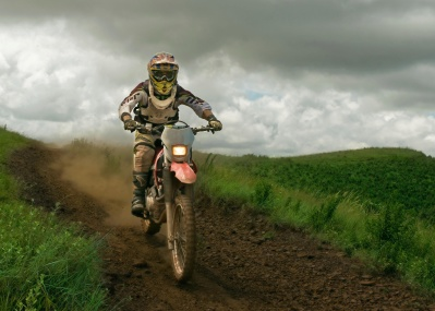 man, motorcycle, motocross, sport, nature, landscape, mud, dust, competition, helmet