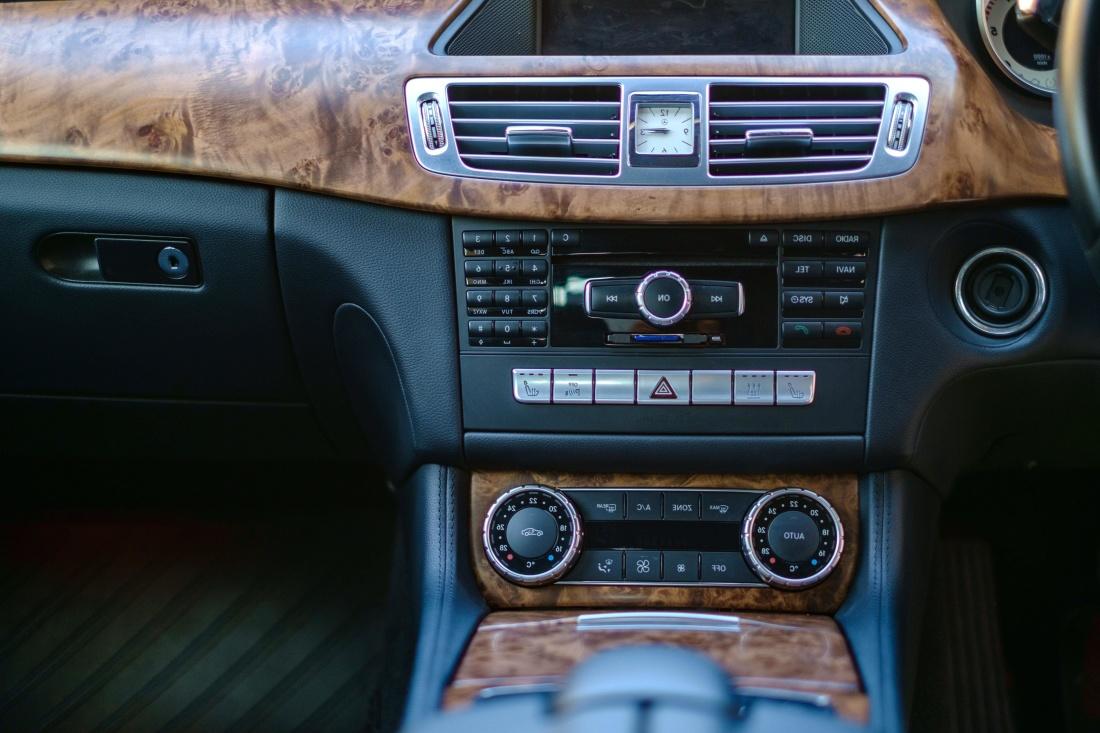 voiture, véhicule, tableau de bord, lecteur, compteur de vitesse, luxe
