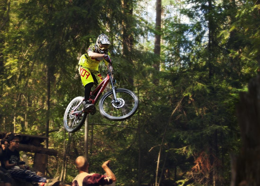 マウンテン バイク、ホイール、冒険、バイカー、レース、競争、サイクリスト、自転車、車両