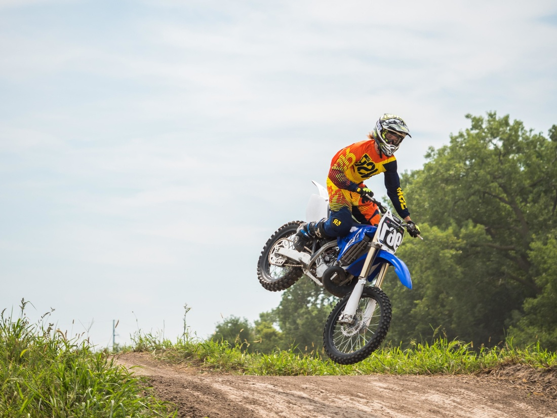 course, concours, action, roue, biker, motocross, moto, véhicule