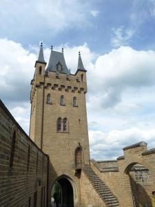Architektura, Gothic, starý, hrad, věž, památník, opevnění