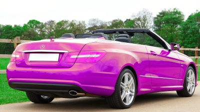 car, vehicle, convertible, convertible, automotive, fast, coupe, pink