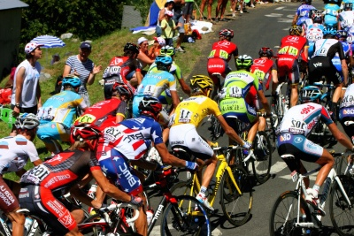 race, cyclist, competition, wheel, vehicle, biker, motorcycle, crowd