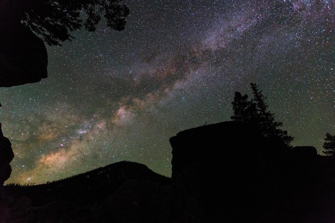 clair de lune, paysage, nuit, exploration, astronomie