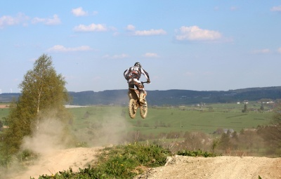 adventure, motocross, sport, landscape, summer, sky, action, nature, daylight