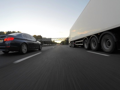 car, asphalt, road, vehicle, trailer, truck, transportation, transport