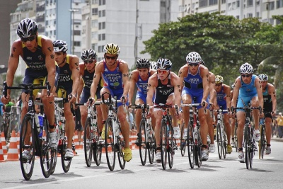 race, competition, wheel, cyclist, people, athlete, vehicle, sport