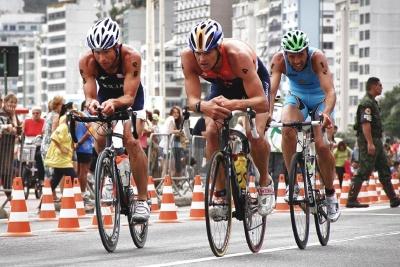 rase, konkurranse, marathon, hjul, folk, syklist, road, mann