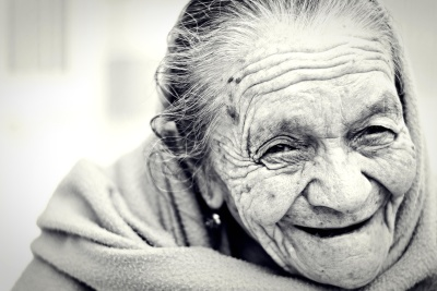 portrait, people, elderly, wrinkle, depression, elder, old, face, woman, monochrome