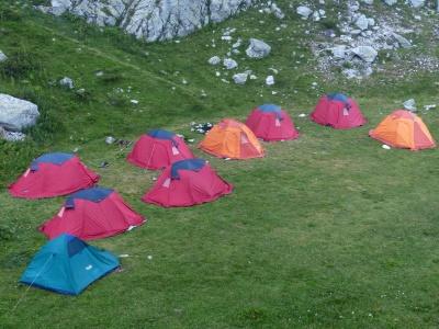 tienda, hierba, refugio, paisaje, albergue, campamento, verano, camping