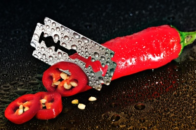 food, chili pepper, stainless steel, vegetable