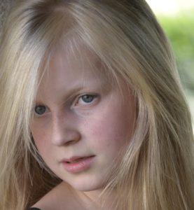 child, blond, eye, portrait, fashion, pretty girl, lips, adolescent, face
