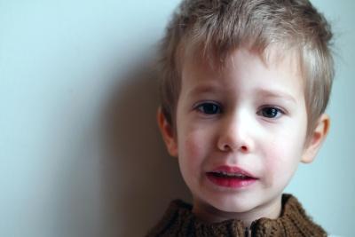Kind, niedlich, Portrait, Menschen, junge, Augen, Unschuld, Gesicht