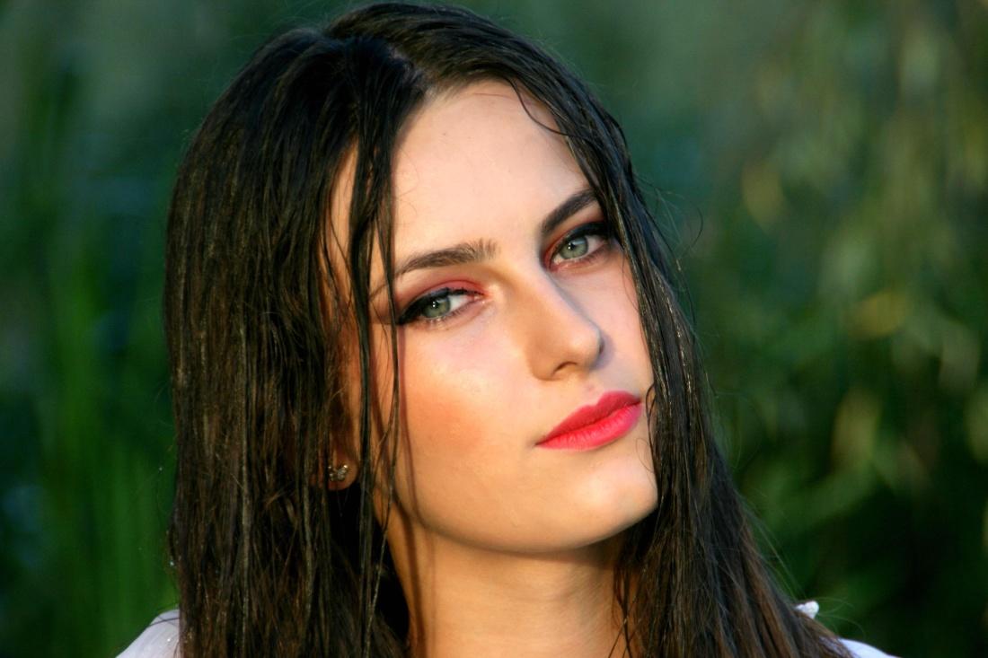 woman, fashion, portrait, attractive, pretty, face, brunette