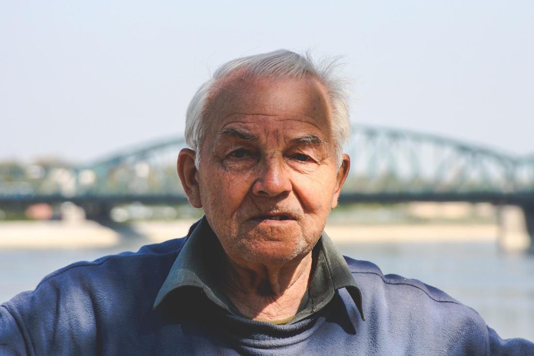 portrait, people, man, grandfather, senior, elderly, mature, happy