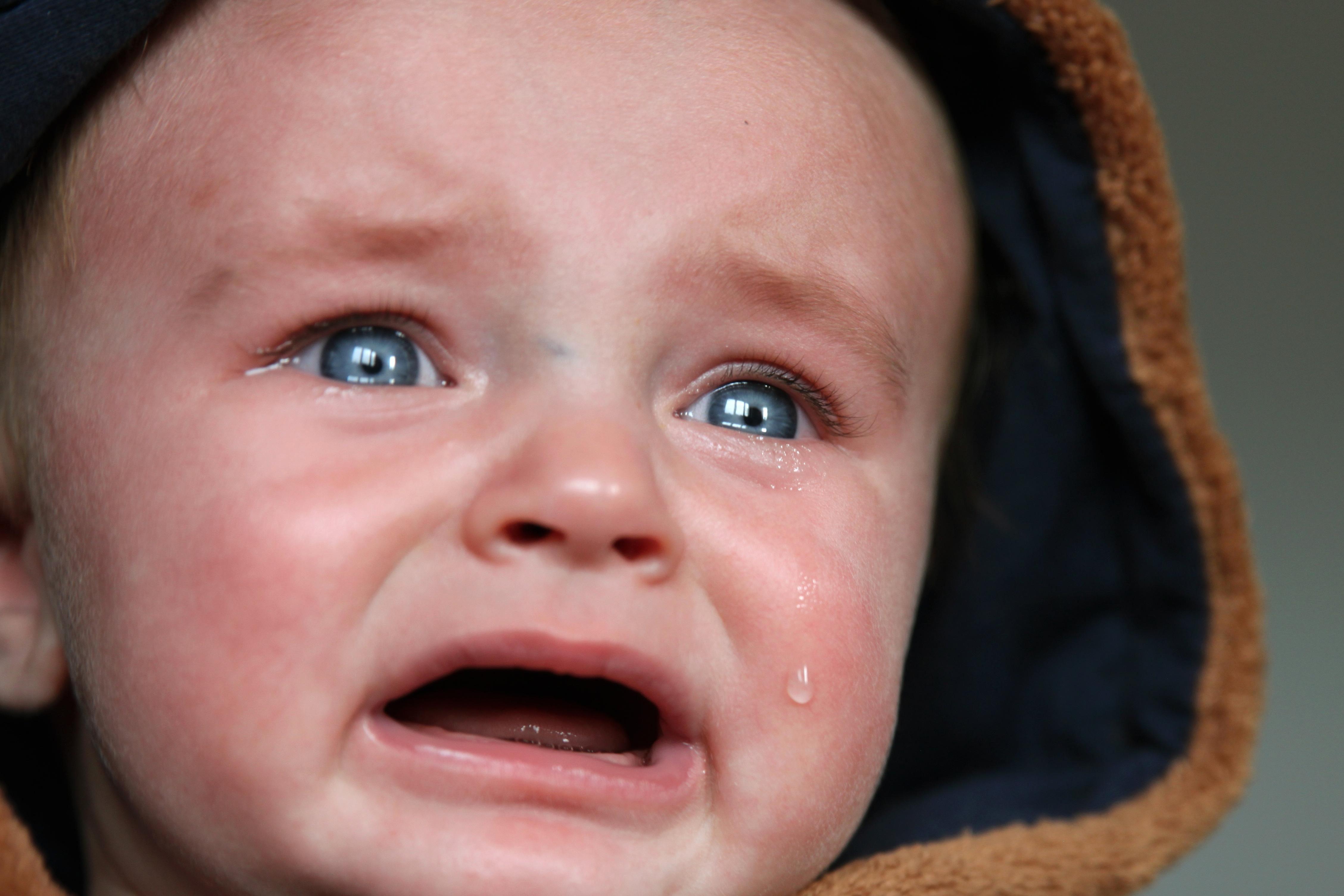 Картинки малышей плачущих