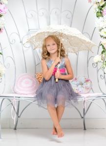 femme, belle, jolie fille, robe, mode, enfant, parapluie
