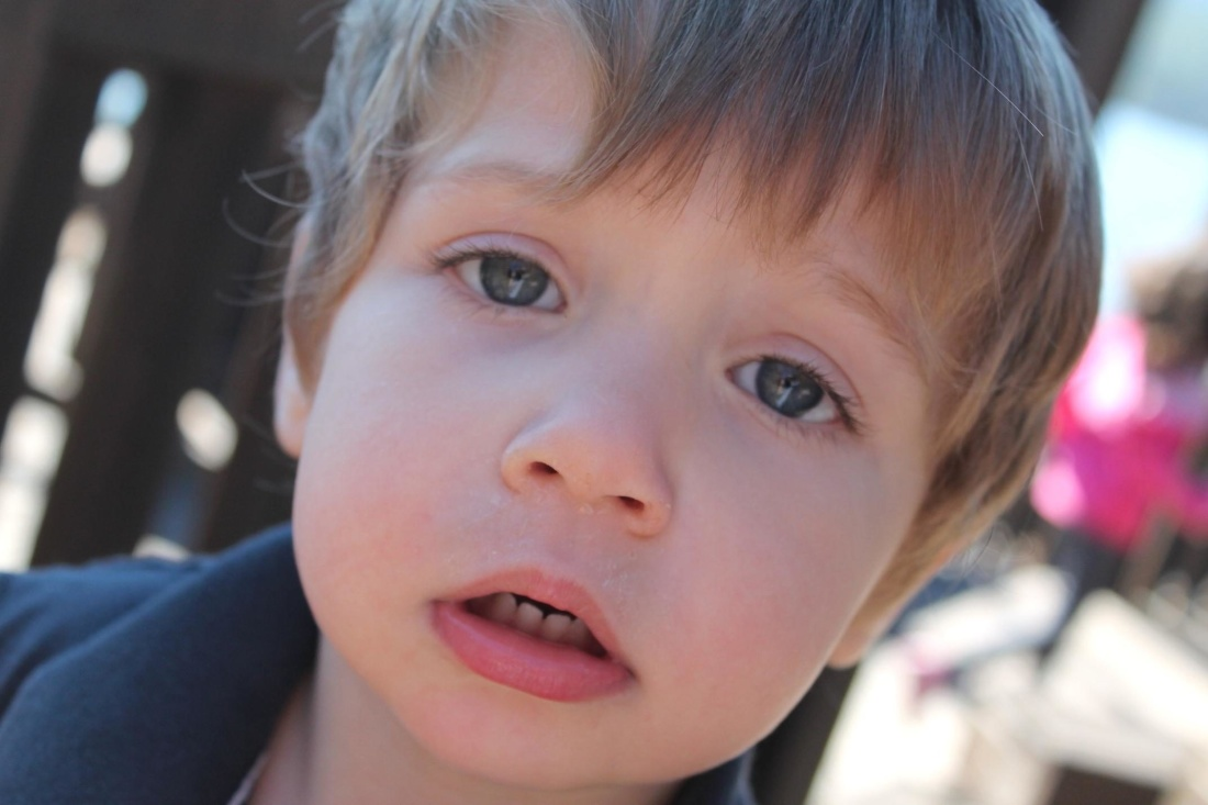 Free Picture Child Face Lips Portrait Cute People