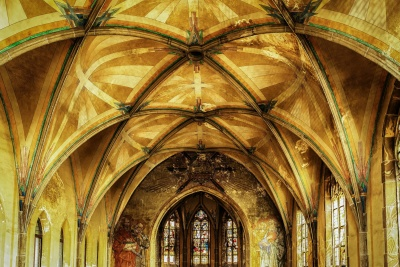 church, cathedral, religion, art, arch, architecture, ceiling