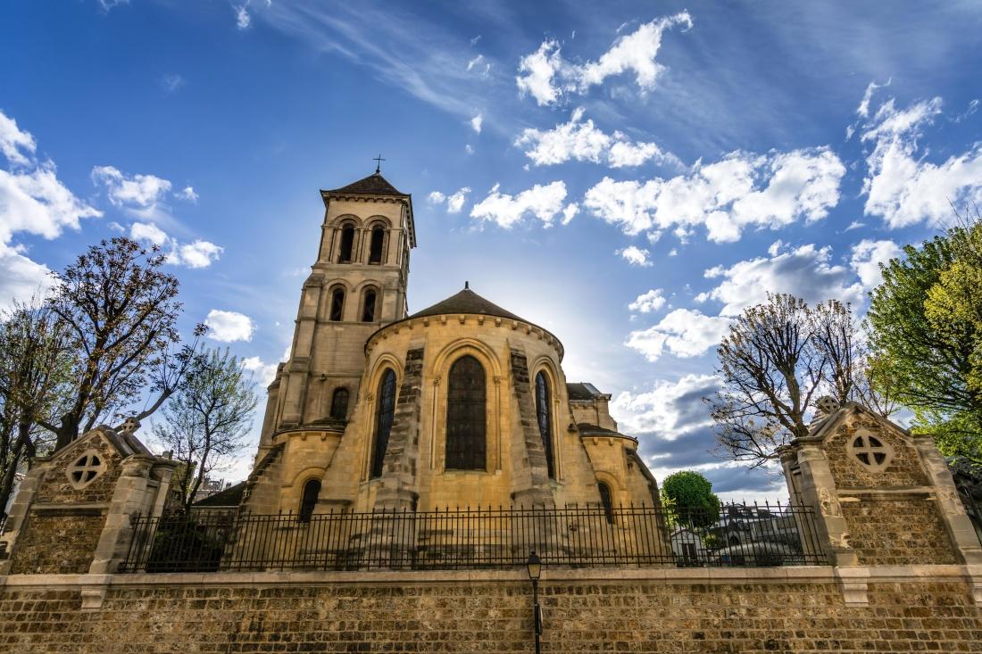 arhitektura, pravoslavne, eksterijer, crkve, religije, nebo, drevni, starog