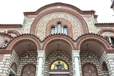 orthodox, architecture, facade, church, exterior