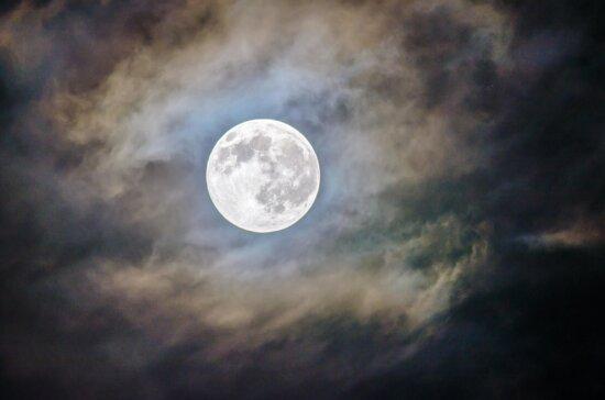 astronomie, ciel, lune, planète, lune, éclipse, soleil, nature, nuit