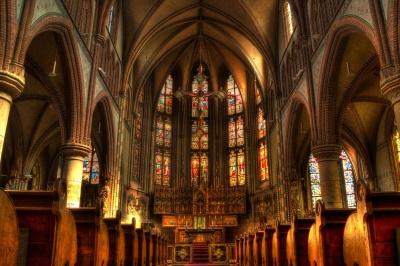 Kirche, Kathedrale, Architektur, Religion, Kunst, dunkel, Altar, Decke