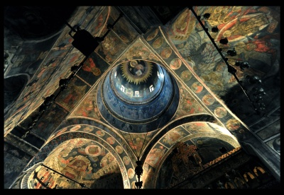 old, religion, art, design, indoors, architecture, church, inside