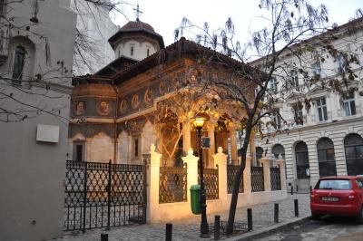 архитектура, православни, византийски, града, стария, град, дворец, църквата, пребиваване, катедралата