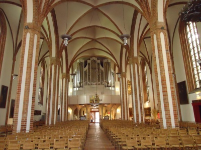 church, architecture, religion, indoors, cathedral, interior
