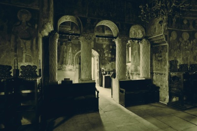 indoors, cathedral, Byzantine, orthodox, church, architecture, medieval, religion, old