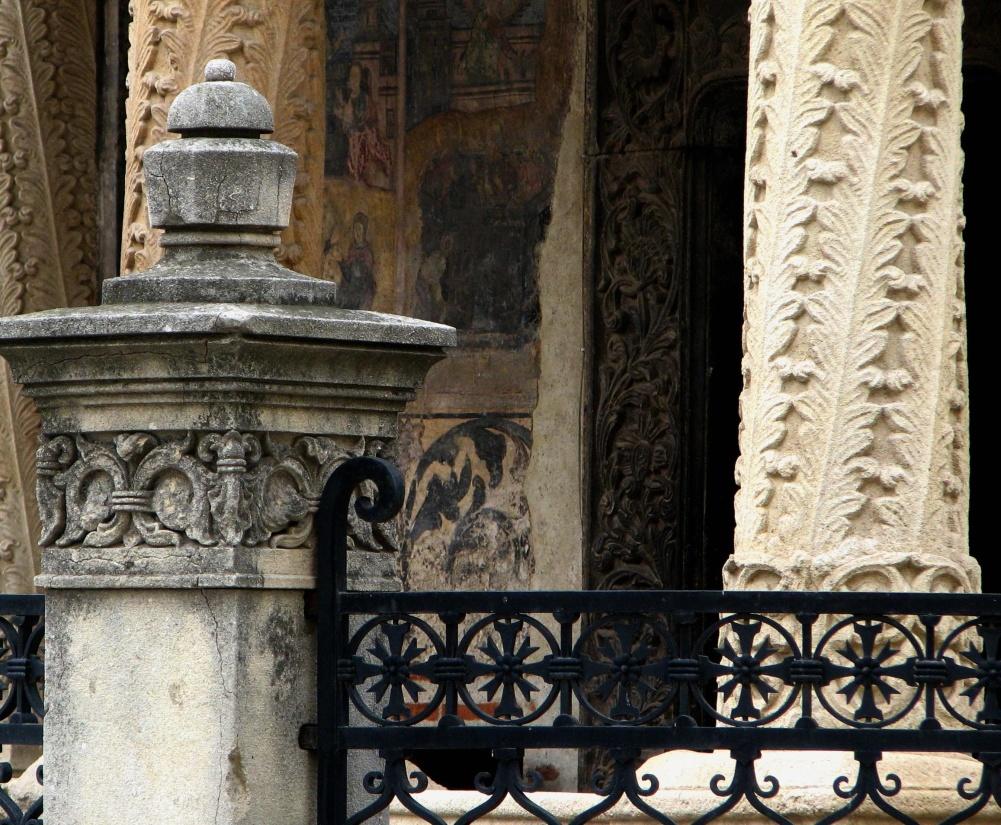 architettura, antico, arte, antico, recinzione, ferro, esterno