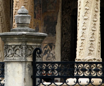 architecture, old, art, ancient, fence, iron, exterior