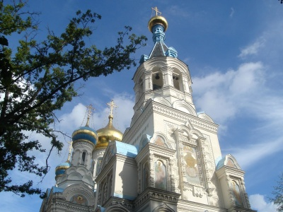 orthodox, architecture, church, shrine, religion, cathedral, cross, dome, Orthodox