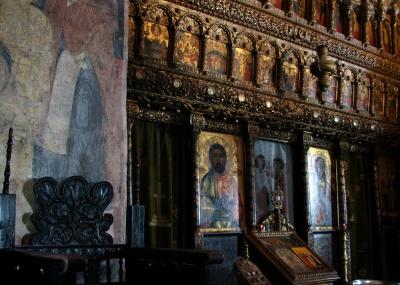 náboženstvo, umenie, cirkev, byzantskej, pravoslávnej, kostol, architektúra kláštora