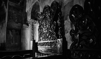 religion, Byzantine, orthodox, architecture, church, dark, culture, temple, monochrome
