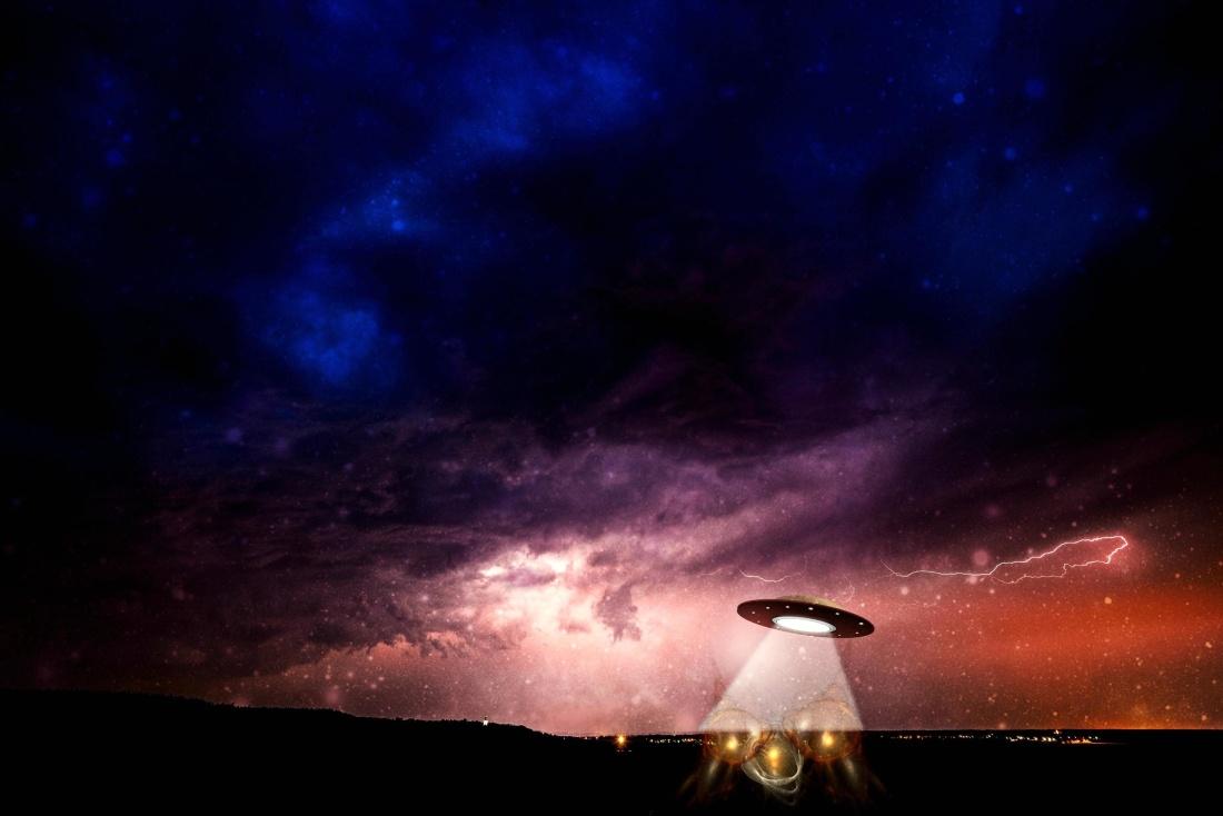 photomontage, night, sky, dusk, dark, nature