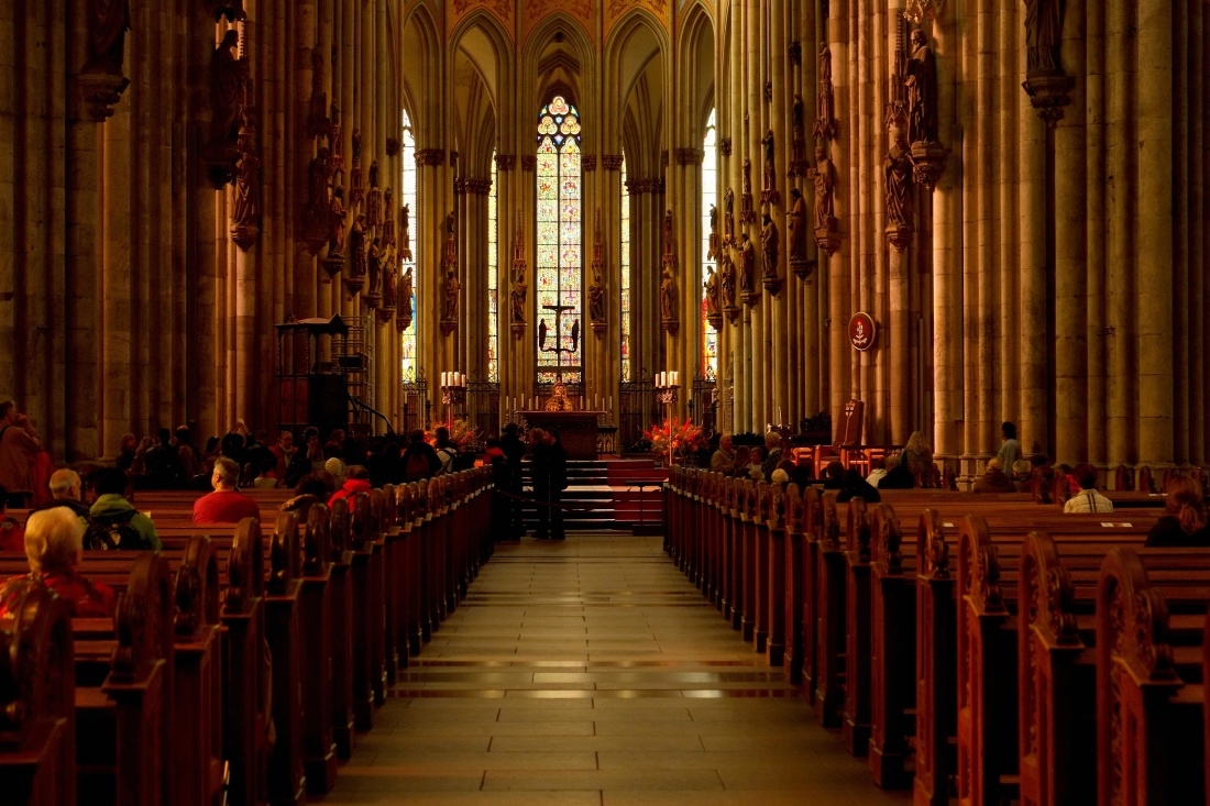 Free Picture Church Indoors Religion Cathedral Inside