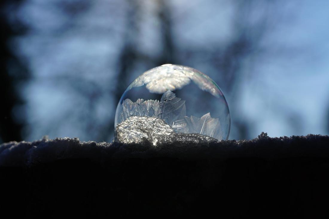 mraku, pahuljica, Mraz, hladno, led, zima, krajolik, snijeg, nebo