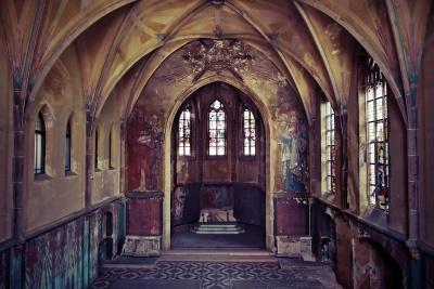 Architektúra, byzantskej, pravoslávna cirkev, cirkev, arch, starý, abbey, umenie, okno