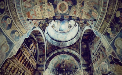church, religion, orthodox, art, fresco, mosaic, cathedral, arch, old, Byzantine